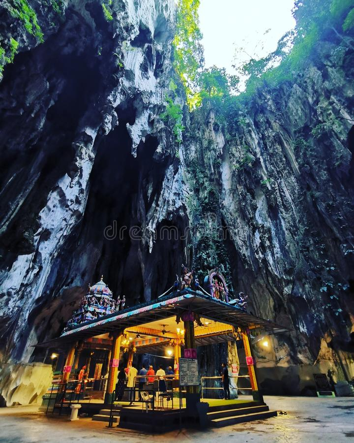 Temple of Batu Caves royaltyfri bild