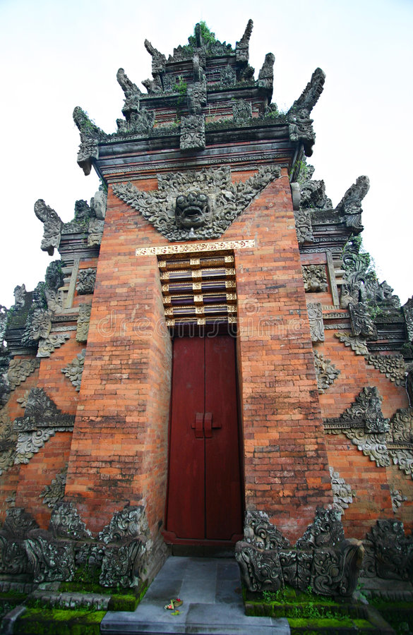temple batuan antique de bali image stock