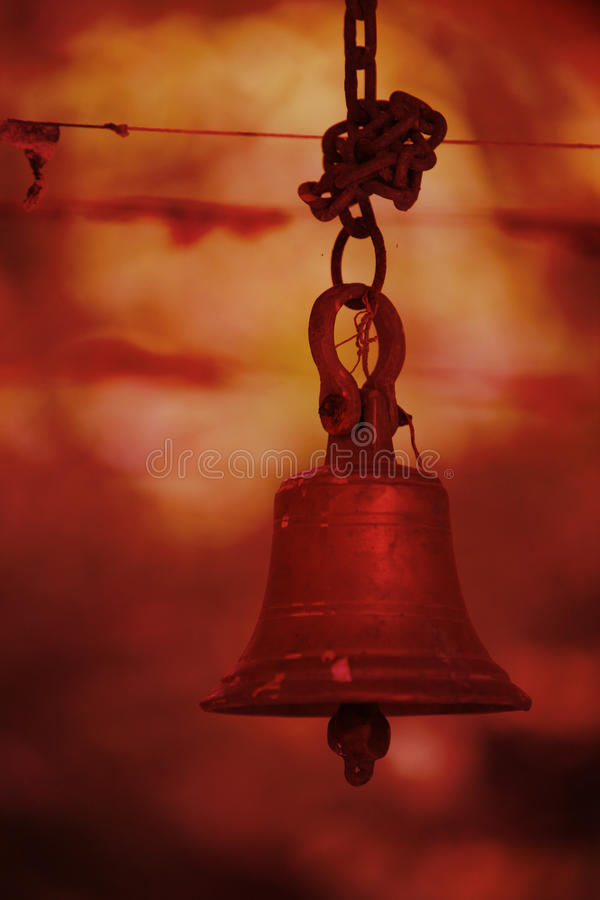 Hindu Temple Bell Stock Images - Download 673 Royalty Free