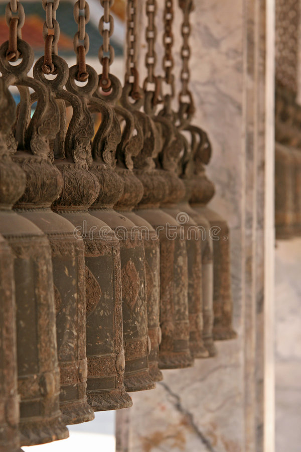 Download Temple Bells stock photo. Image of asian, thailand, spiritual - 2096190
