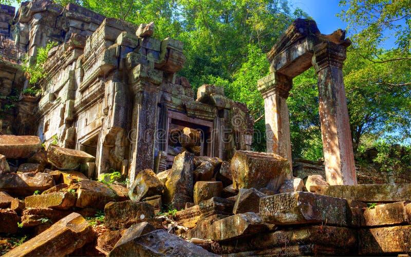 Temple Beng Mealea. Cambodge photo stock