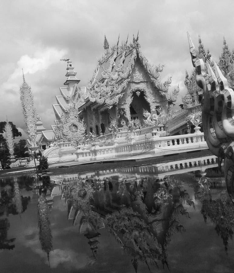 Temple blanc images libres de droits