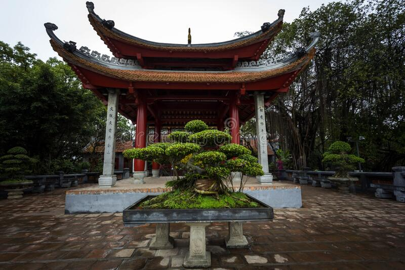Temple in Vietnam royalty free stock photos
