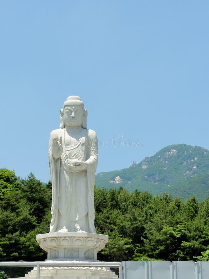 Temple bouddhiste à Daegu, Corée du Sud photographie stock libre de droits
