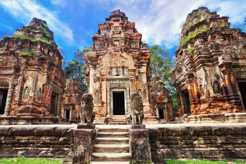 Temple bouddhiste antique de khmer photos libres de droits