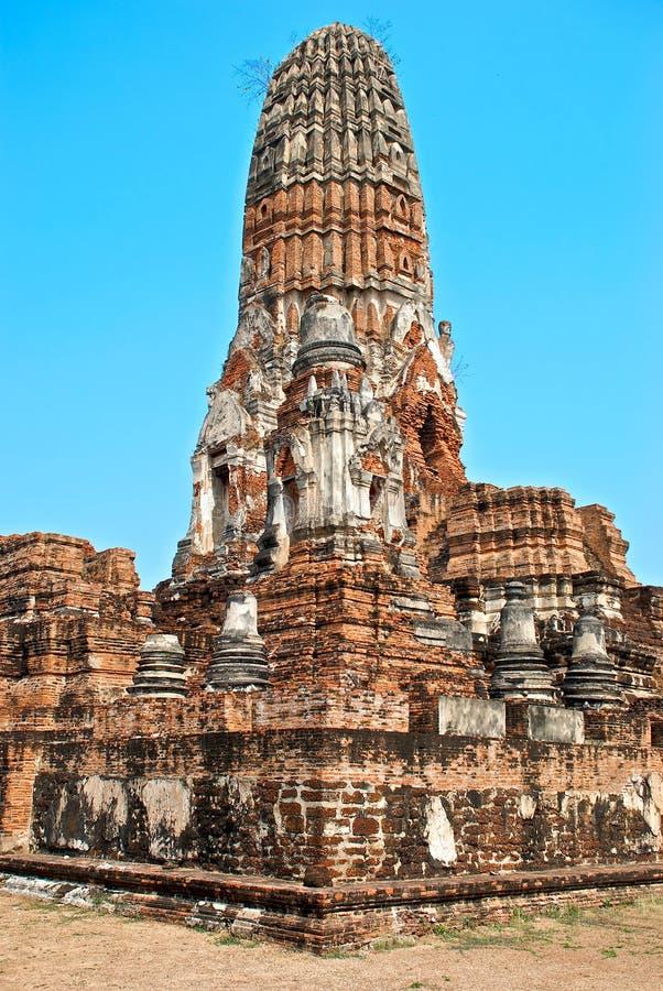 Temple bouddhiste dans Ayutthaya photos stock
