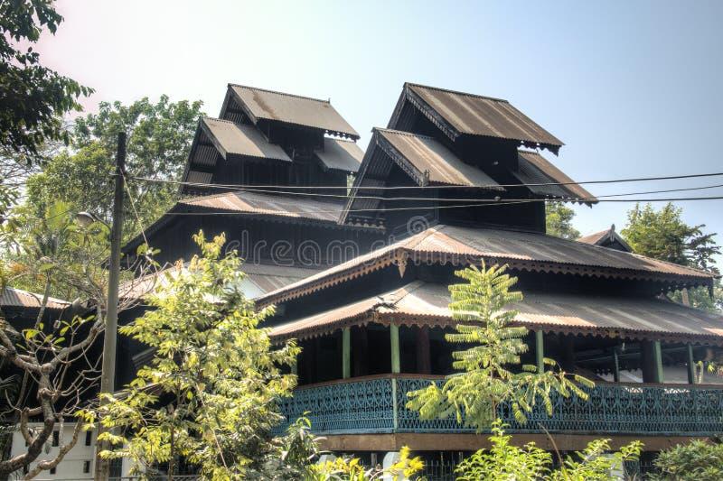Temple bouddhiste dans le Bazar du ` s de Cox, Bangladesh image stock