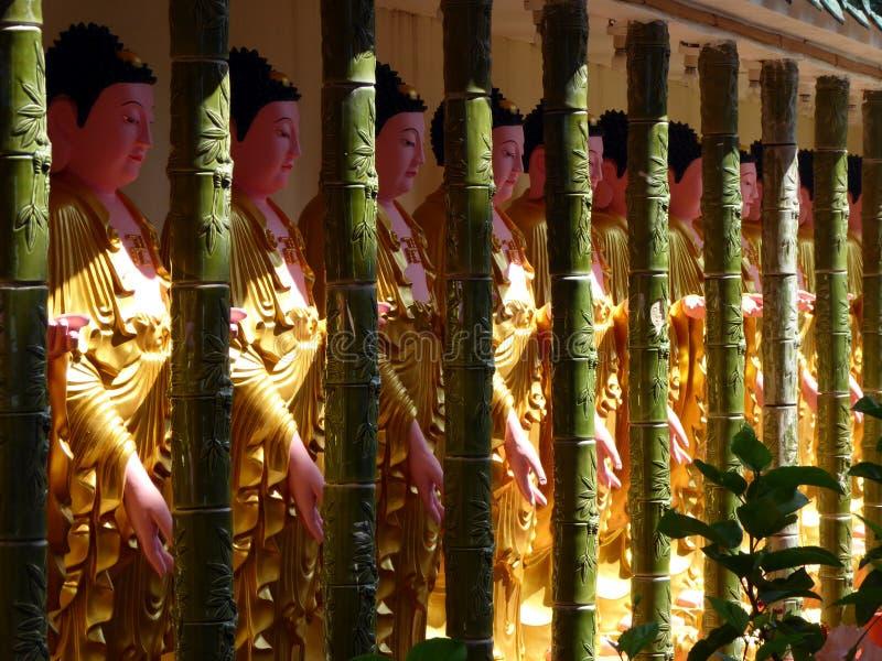 Temple bouddhiste de Lok Si de ka photo libre de droits