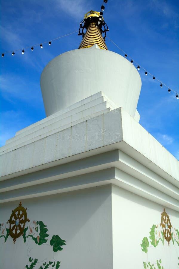 Temple bouddhiste, goudron, Hongrie image stock