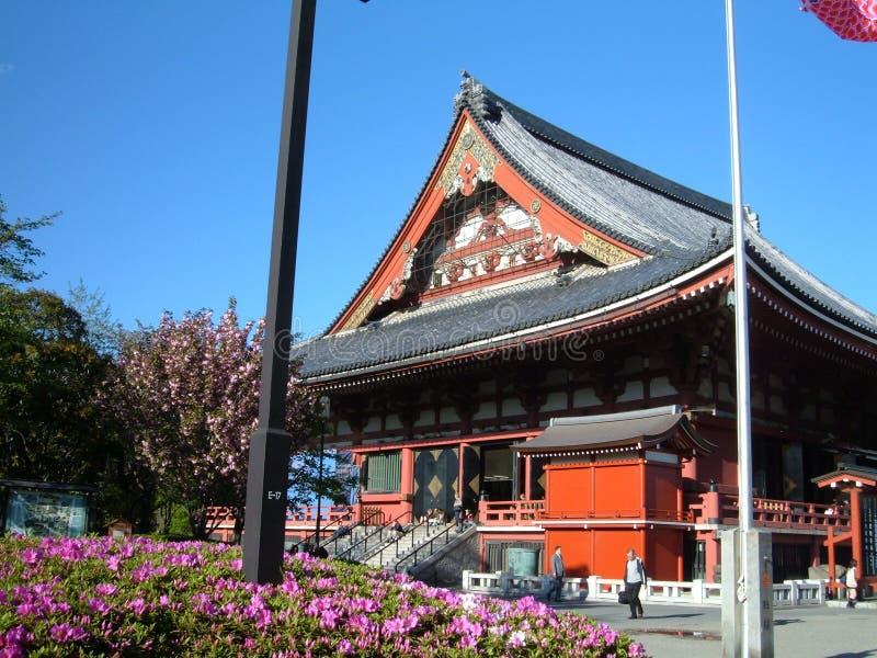 Temple bouddhiste japonais image libre de droits