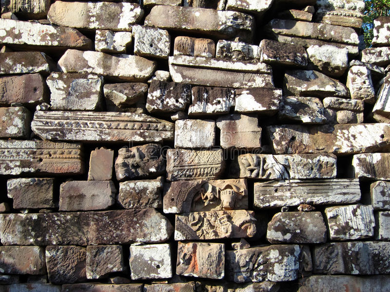 Download Temple Bricks And Stones, Angkor Royalty Free Stock Photography - Image: 24376557