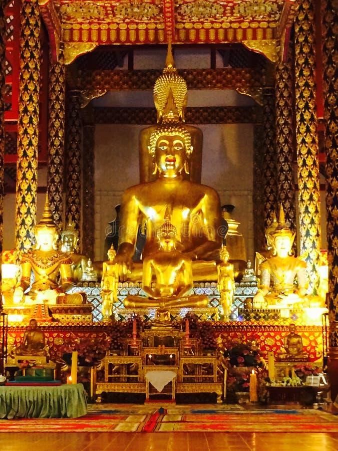 Temple Buddha Thailand Chiang Mai stock photos