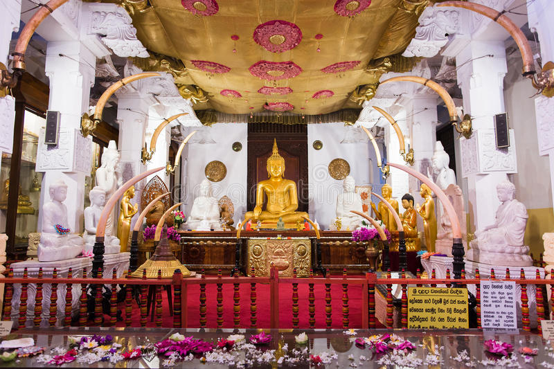 Temple of the Buddha Tooth royalty free stock photography