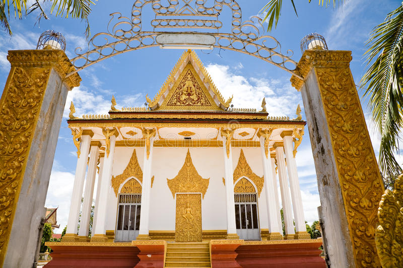 Temple, Cambodia royalty free stock photography