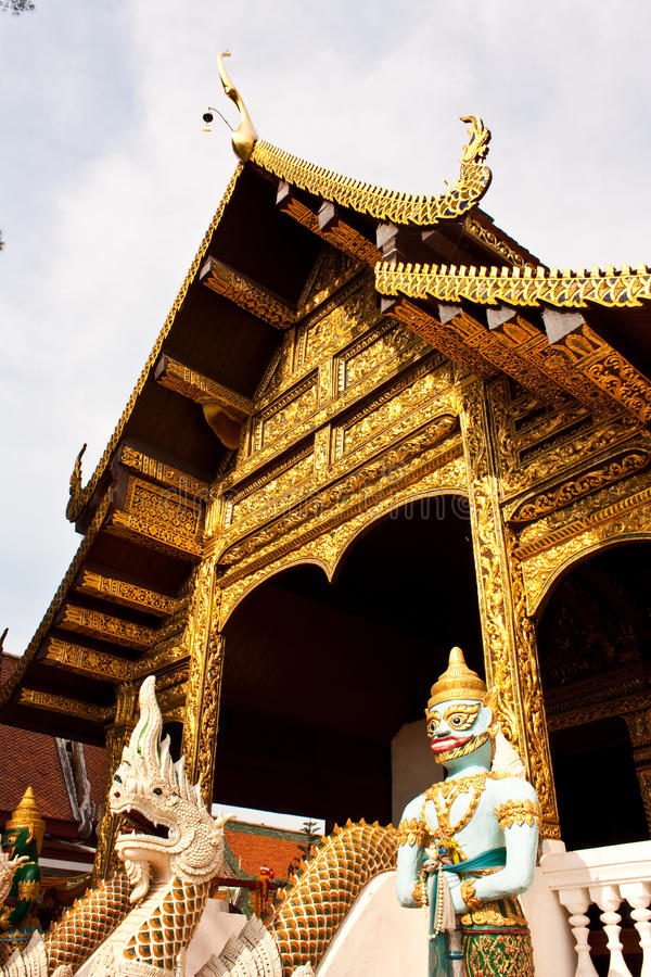 Download Temple in Chiang Mai stock photo. Image of archeology - 14406208