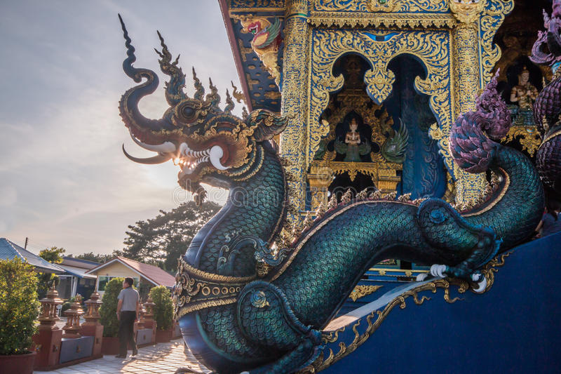Temple in Chiang Rai Thailand royalty free stock images
