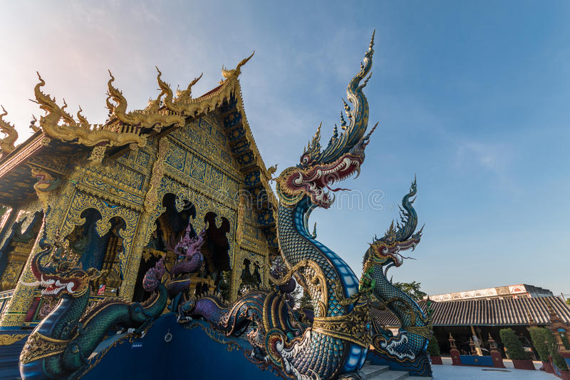 Temple in Chiang Rai Thailand royalty free stock photography