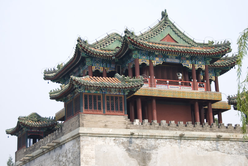 Temple, China royalty free stock image