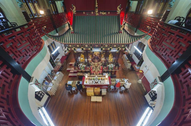 Temple chinois à Hong Kong photos libres de droits