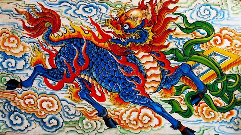 Temple chinois à Singapour image stock