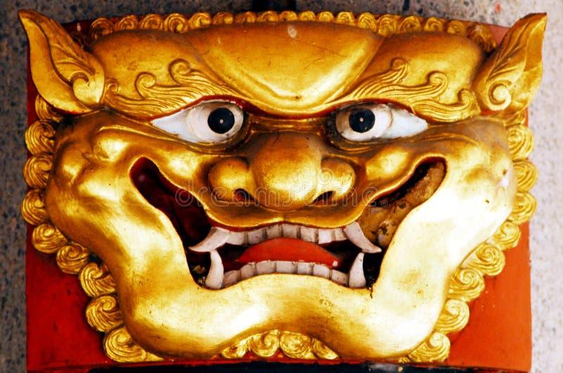 Temple chinois à Singapour image libre de droits