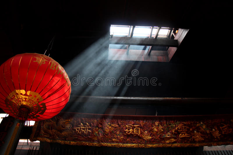 Temple chinois photographie stock