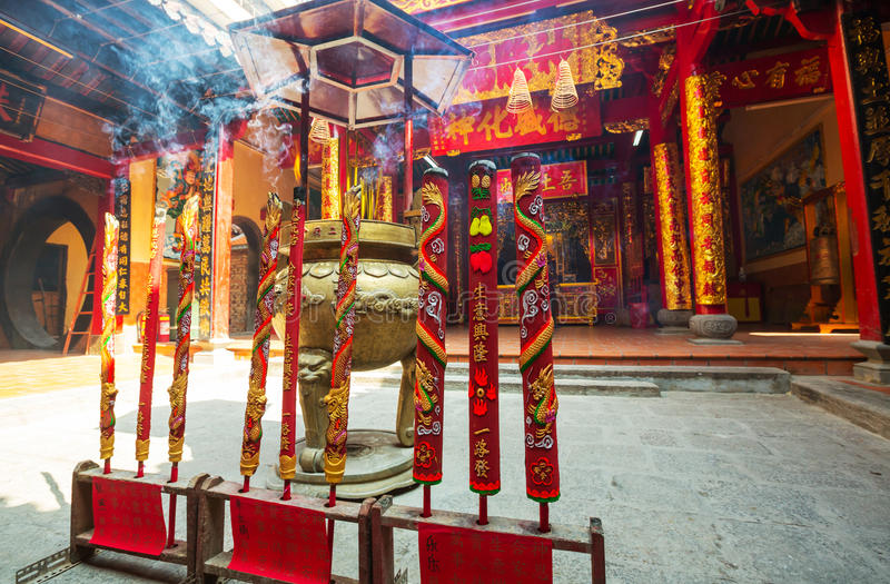 Temple chinois images stock