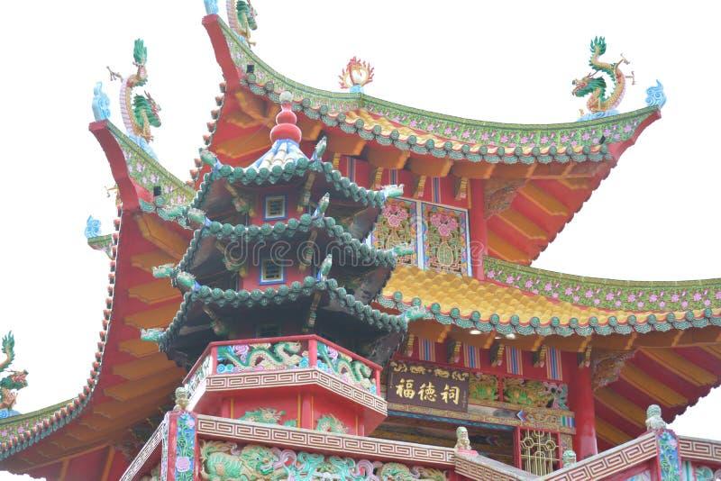 Temple chinois de Singkawang images libres de droits