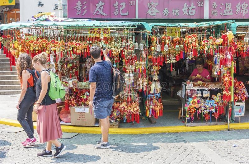 Temple chinois ? Hong Kong photos stock