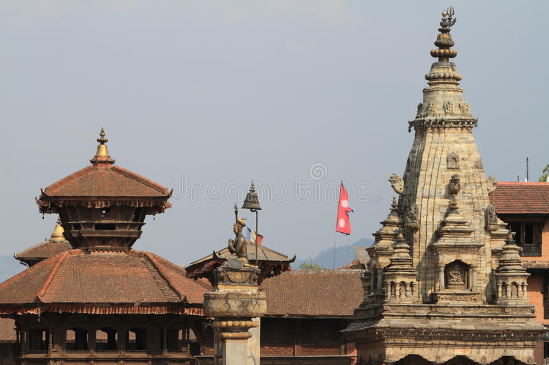 Temple City Bhaktapur royalty free stock photography