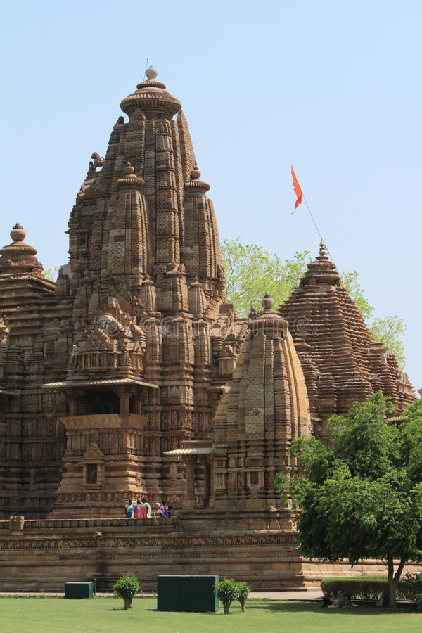 The Temple City of Khajuraho stock images