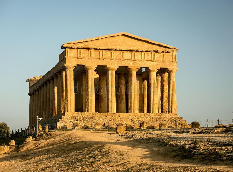 Temple of Concord royalty free stock images