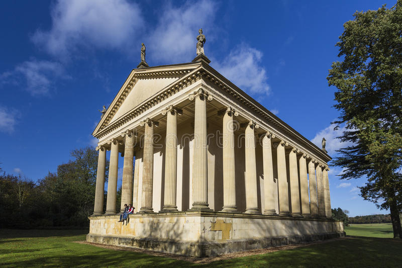 Temple of Concord and Victory stock photography