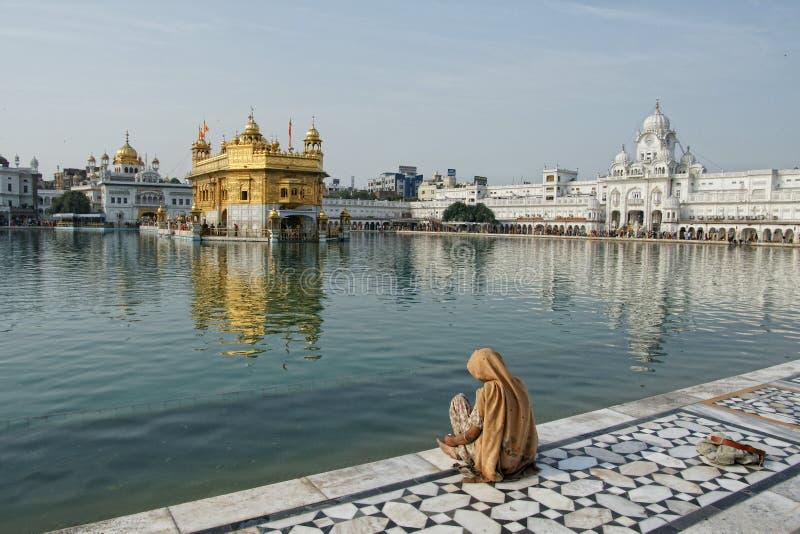 Temple d'or à Amritsar photo libre de droits
