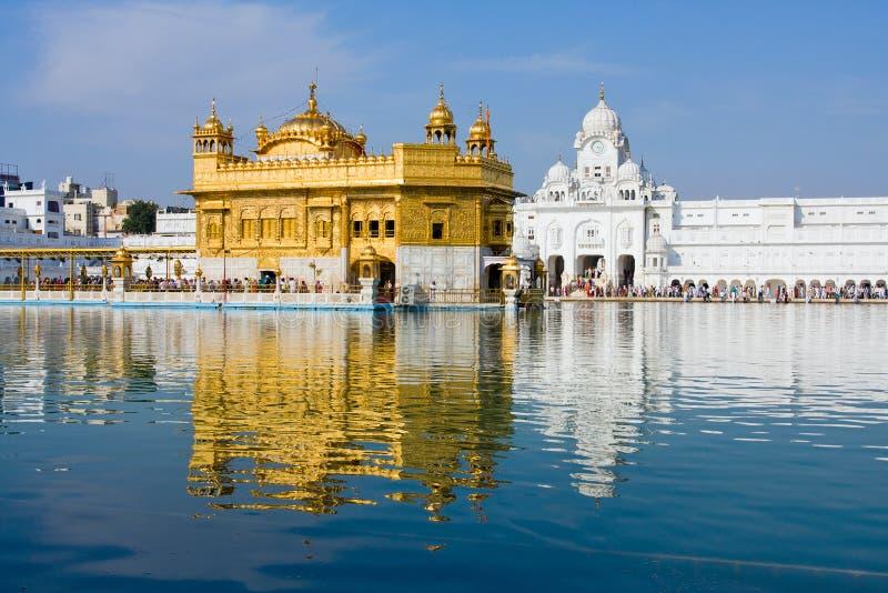 Temple d'or à Amritsar, Pendjab, Inde. photos stock