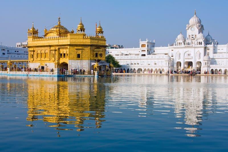 Temple d'or à Amritsar, Pendjab, Inde image libre de droits