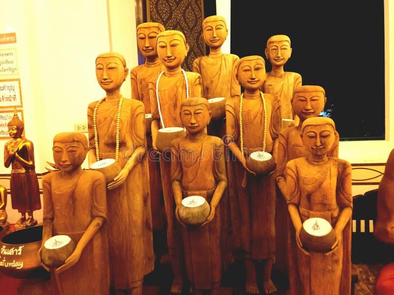 Temple d'éclairage de Bouddha images libres de droits
