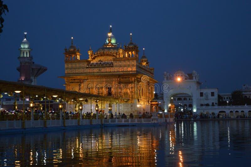 Temple d'or - Amritsar photographie stock libre de droits