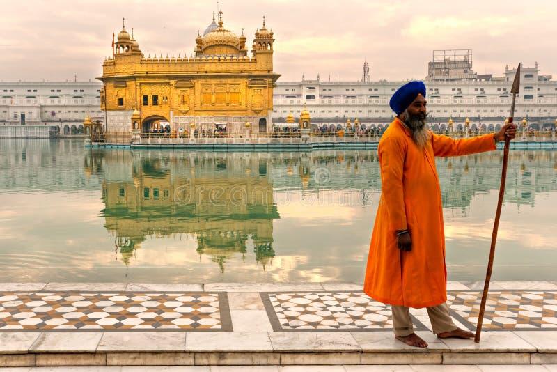 Temple d'or, amritsar, Inde. photos libres de droits