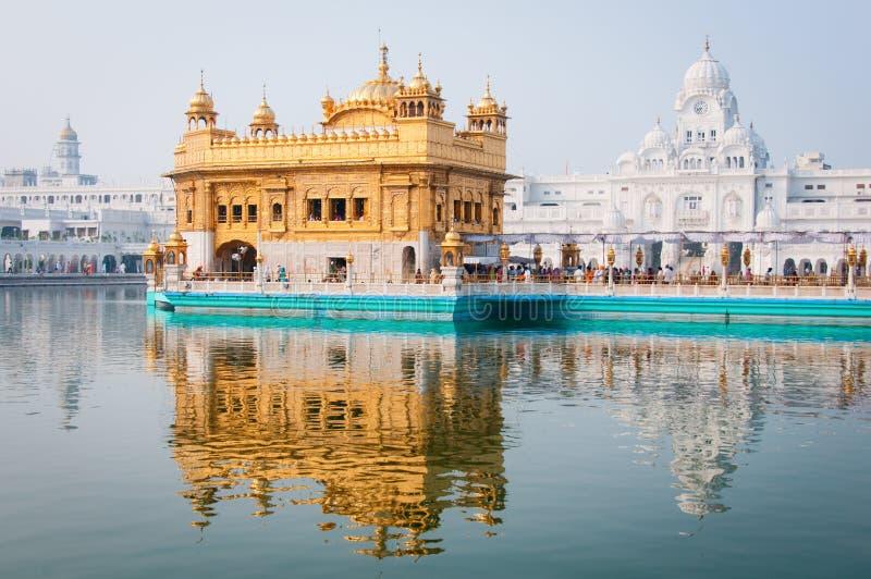 Temple d'or, Amritsar, Inde image libre de droits