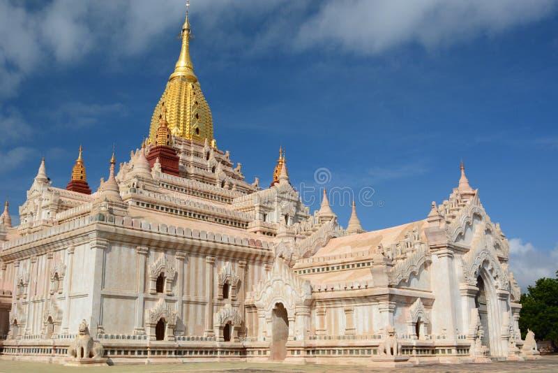 Temple d'Ananda Bagan myanmar photos libres de droits