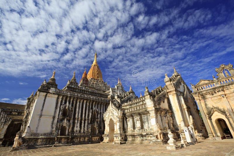 Temple d'Ananda, Bagan, Myanmar image stock