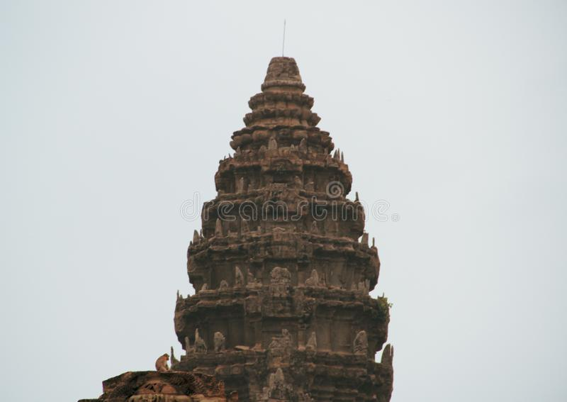 Temple d'Angkor Vat dans Siem Reap photo libre de droits