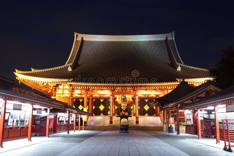 Temple D Asakusa à Tokyo Japon Photo libre de droits