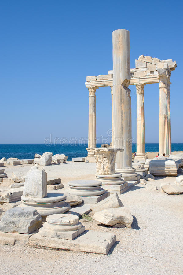 Temple d'Athéna photos stock