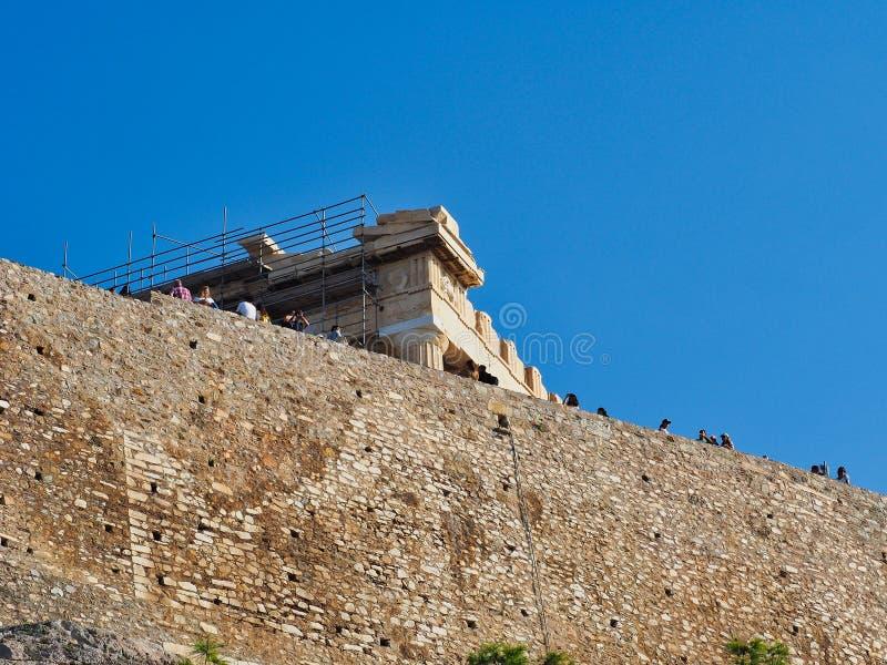 Temple d'Athéna, le parthenon, Athènes, Grèce photo stock