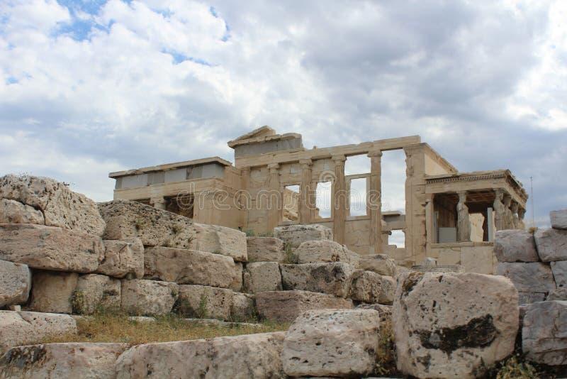 Temple d'Athena Athens Greece images stock