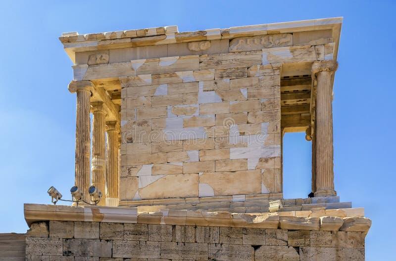 Temple d'Athena Nike, Athènes photos stock