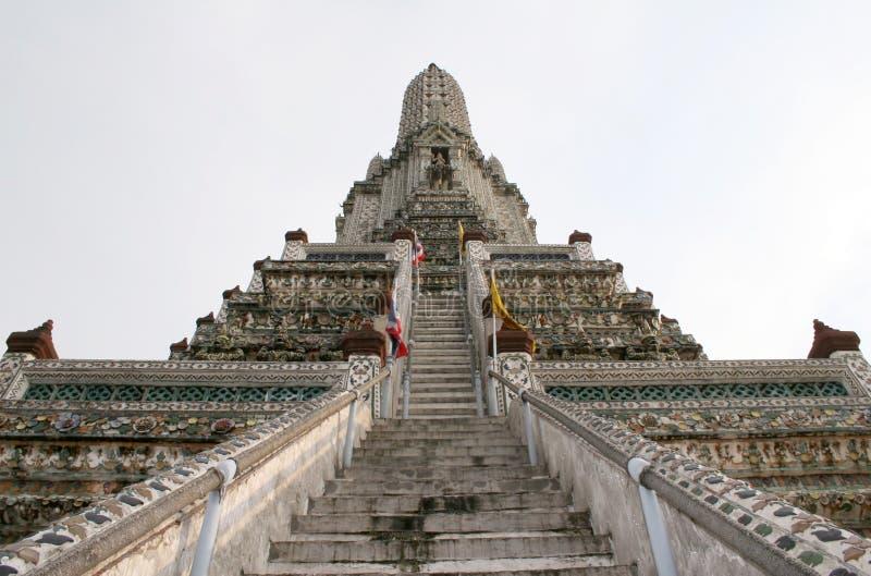Temple d'aube - Thaïlande photographie stock