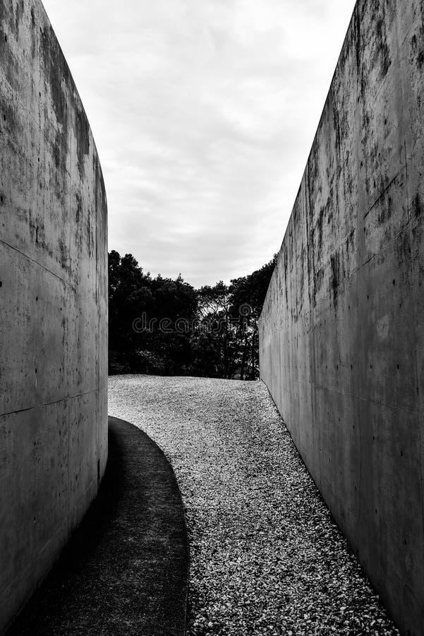 Temple d'Awaji photos libres de droits